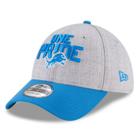 Detroit Lions New Era NFL 2018 Draft On Stage 39THIRTY Hat