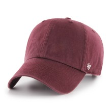 47 Brand Clean Up Blank Dad Hat - Maroon | Adjustable