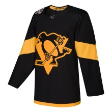 Chandail Stade Series 2019 adidas adizero LNH Authentique Noir des Penguins de Pittsburgh