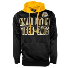 Hamilton Tiger-Cats CFL Colorblock - Embroidered Logo Pullover Hoodie