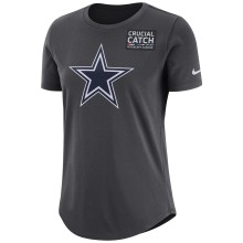 Dallas Cowboys Women's NFL Nike DRI-FIT Crucial Catch T-Shirt