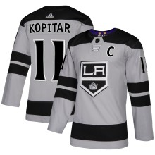 Anze Kopitar Los Angeles Kings adidas NHL Authentic Pro Alternate Jersey - Pro Stitched