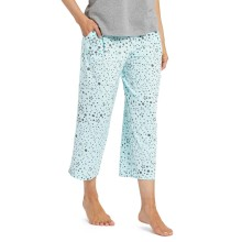 Life is Good Women's Cropped Sleep Pant - Stars
