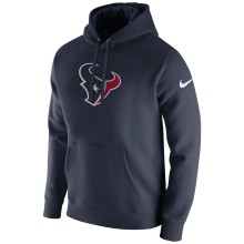 Houston Texans Nike NFL Club Pullover Hoodie - Navy