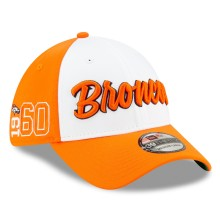 Denver Broncos New Era 2019 NFL On Field Home Alternate 39THIRTY Cap -White-Orange