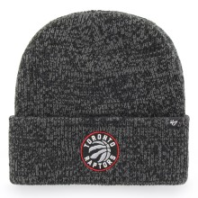 Toronto Raptors NBA '47 Black Brain Freeze Cuff Knit Beanie Hat