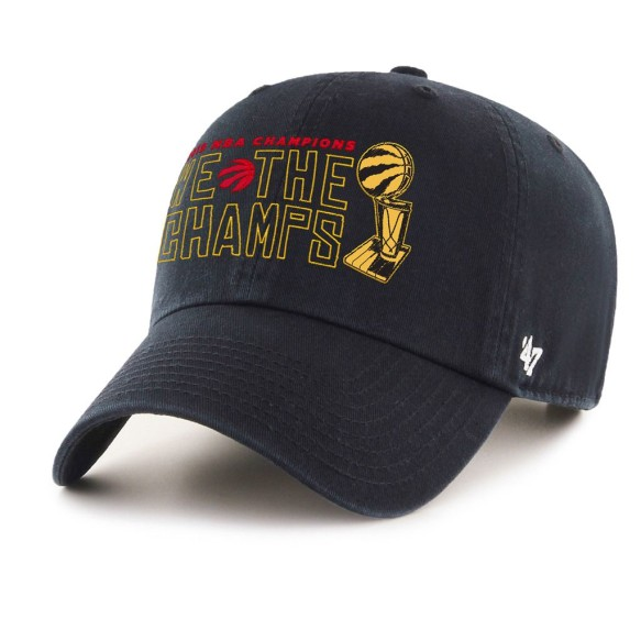 Toronto Raptors '47 NBA 2019 We The Champs Champions Unstructured Clean Up Cap - Black | Adjustable
