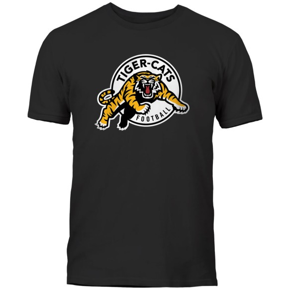 Hamilton Tiger-Cats CFL Basic Logo T-Shirt