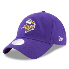 Minnesota Vikings NFL New Era Women's Team Glisten Relaxed Fit 9TWENTY Cap | Adjustable