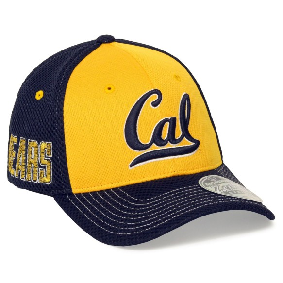 California Golden Bears NCAA Zephyr Restitch Flex Cap