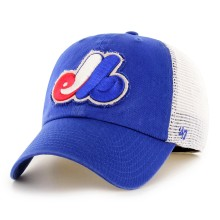 Montreal Expos MLB '47 Stamper Closer Flex Fit Cap
