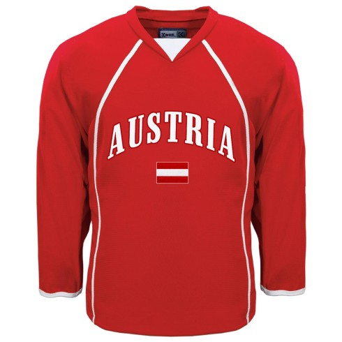 Austria MyCountry Fan Hockey Jersey