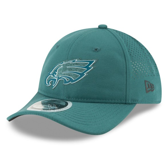 Philadelphia Eagles New Era 2018 NFL On Field Training Packable 9TWENTY Cap