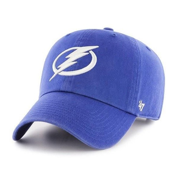 Tampa Bay Lightning NHL `47 Clean Up Primary Cap - | Adjustable