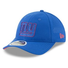 New York Giants New Era 2018 NFL On Field Training Packable 9TWENTY Cap