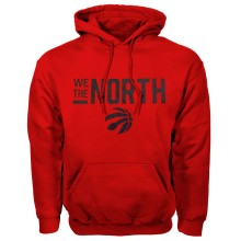 Toronto Raptors NBA Bulletin We The North Hoodie - Red