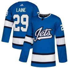 Patrik Laine Winnipeg Jets adidas NHL Authentic Pro Alternate Jersey - Pro Stitched