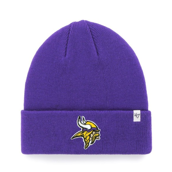Minnesota Vikings NFL '47 Raised Cuff Knit Primary Beanie