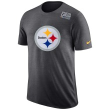 Pittsburgh Steelers NFL Nike DRI-FIT Crucial Catch T-Shirt