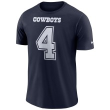 Dallas Cowboys Dak Prescott NFL Nike Player Pride 3.0 Name and Number DRI-FIT T-Shirt