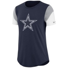 Dallas Cowboys Women's NFL Nike Essential Tri-Blend T-Shirt