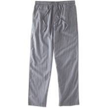 Life is Good Men's Classic Sleep Pant Stripe - Slate Gray