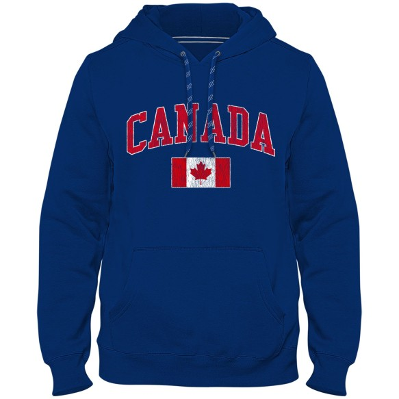 Canada MyCountry Vintage Premium Hoodie - Royal