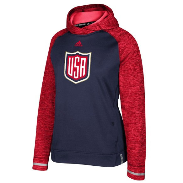 USA 2016 World Cup Of Hockey Women's Player Hoodie