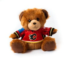 Calgary Flames NHL 7.5 inch Seated Jersey Sweater Bear