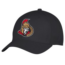 Ottawa Senators adidas NHL Basic Logo Structured Flex Cap