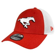 Calgary Stampeders CFL New Era Heather Front Neo 39THIRTY Cap
