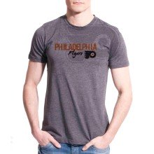 Philadelphia Flyers Cold Shoulder FX T-Shirt (Charcoal)