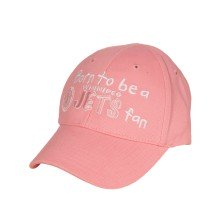 Winnipeg Jets Infant *Born To Be A Fan* Cap (Pink) | Adjustable