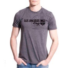 Los Angeles Kings Cold Shoulder FX T-Shirt (Charcoal)
