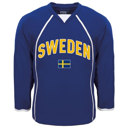 Sweden MyCountry Fan Hockey Jersey - Royal