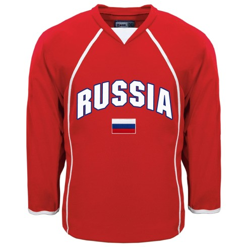 Russia MyCountry Fan Hockey Jersey