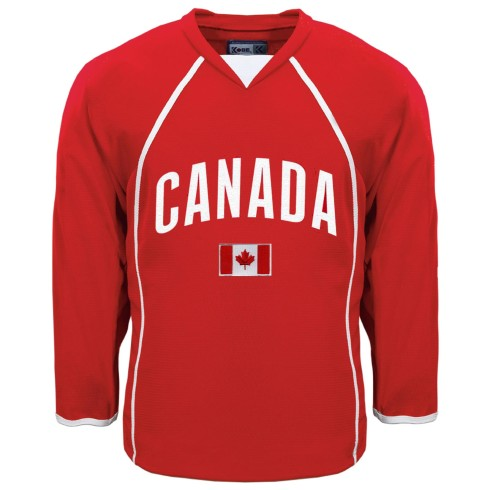 Canada MyCountry Fan Hockey Jersey - Red