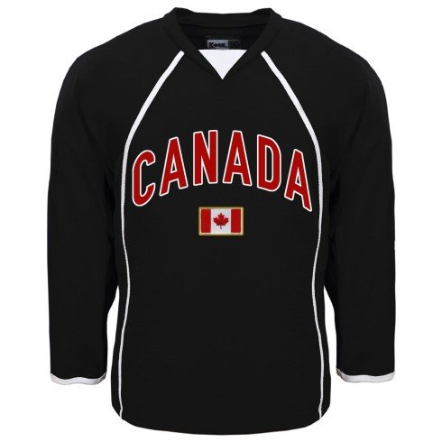 Canada MyCountry Fan Hockey Jersey - Black