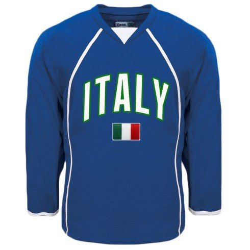Italy MyCountry Fan Hockey Jersey