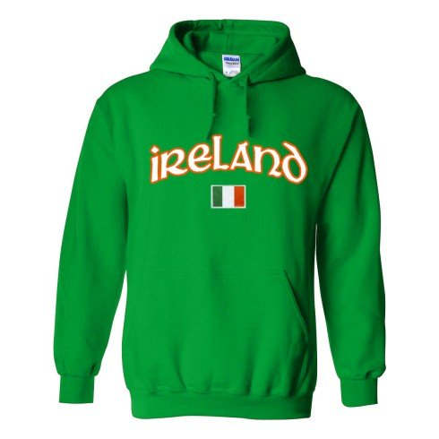 Ireland MyCountry Pullover Arch Hoodie (Kelly)