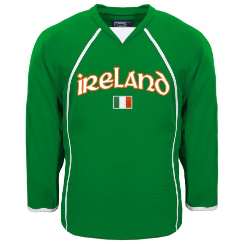 Ireland MyCountry Fan Hockey Jersey - Kelly Green