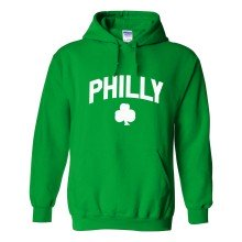 Philly Irish Pride Twill Pullover Hoodie (Kelly)
