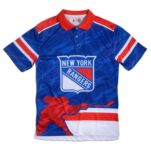 New York Rangers NHL Thematic Polo