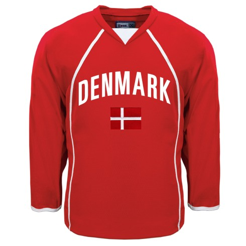 Denmark MyCountry Fan Hockey Jersey