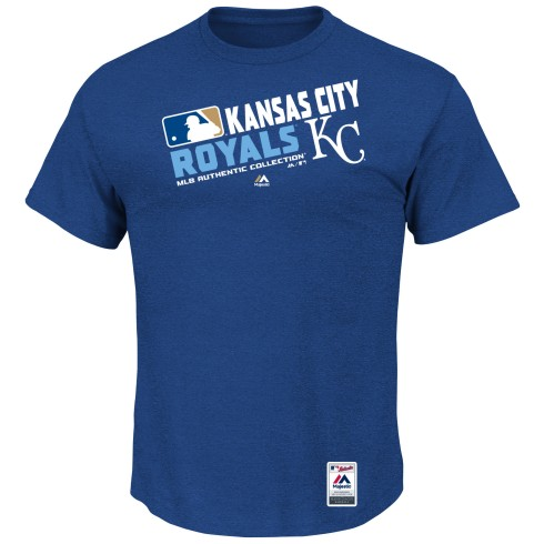 Kansas City Royals Authentic Collection Team Choice Heathered T-Shirt