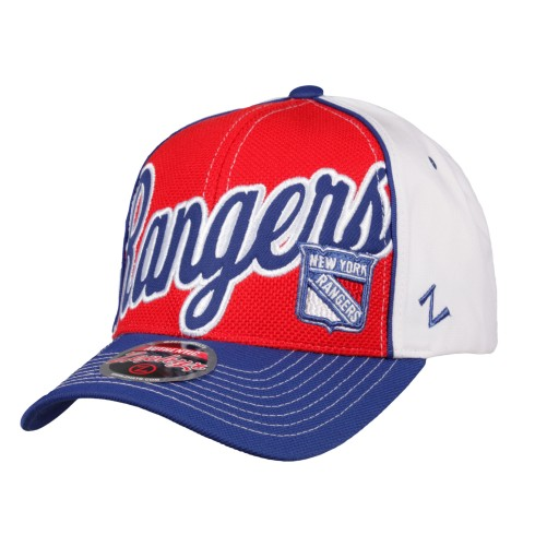 New York Rangers NHL Zephyr Uprising Cap | Adjustable