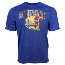 Golden State Warriors Stephen Curry NBA FX Marshall Applique T-Shirt