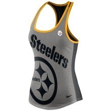 Pittsburgh Steelers Women's Dri-FIT NFL Touchdown Racer Back Tank