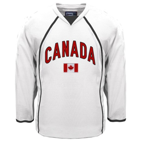 Canada MyCountry Fan Hockey Jersey - White