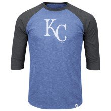Kansas City Royals Grueling Ordeal 3 Quarter Sleeve T-Shirt